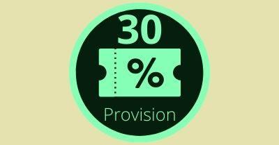 Partnerprogramm - 30 Prozent Rabatt