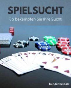 Spielsucht - So bekämpfen Sie Ihre Sucht